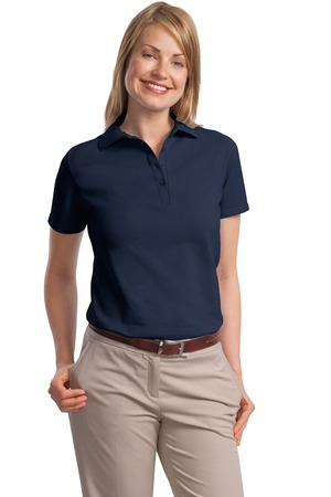 Hanes® ComfortSoft® - Ladies 7-Ounce Pique Knit Sport Shirt.