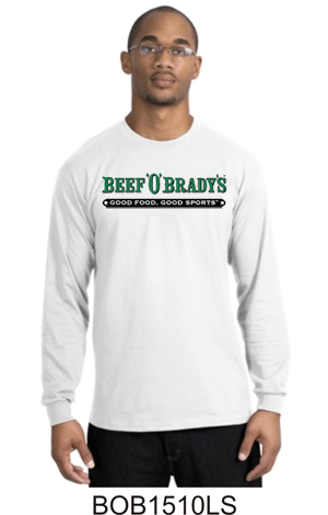 Traditional Beefs LS Tee White BOB1510LS