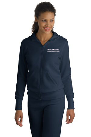 Sport-Tek - Ladies Full-Zip Hooded Fleece Jacket. L265
