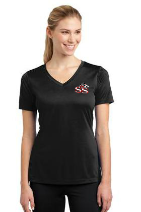 SSW-Sport-Tek® Ladies PosiCharge™ Competitor™ V-Neck Tee. LST353