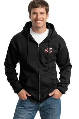 SSW-Port & Company - Ultimate Full-Zip Hooded Sweatshirt. PC90ZH