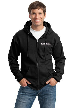 Port & Company - Ultimate Full-Zip Hooded Sweatshirt. PC90ZH