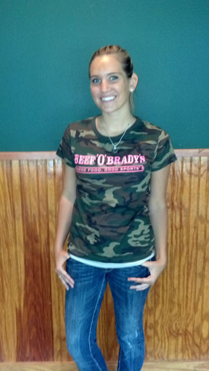 District Threads - Short Sleeve Camo Womens Tee